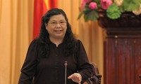 Зампредседателя НС СРВ Тонг Тхи Фонг приняла делегацию Фолькетинга Дании