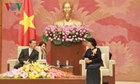 Председатель Национального собрания СРВ приняла посла Японии во Вьетнаме