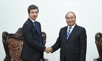 Премьер-министр СРВ Нгуен Суан Фук принял министра юстиции Италии