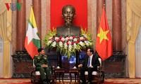 Президент Вьетнама принял главнокомандующего вооружённых сил Мьянмы