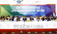 Пресс-конференция по итогам конференции министров финансов АТЭС