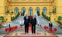 Совместное вьетнамо-американское заявление по итогам президента Д.Трампа во Вьетнам