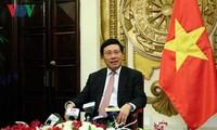 Вице-премьер, глава МИД СРВ Фам Бинь Минь подвёл итоги Недели саммита АТЭС 2017