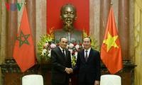 Дальнейшее укрепление вьетнамо-марокканских отношений
