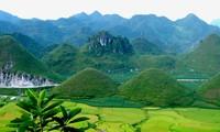 Горный уезд Куанба и легенда о горах-близнецах