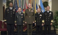 South Korea, US, Japan pledge cooperation to respond to North Korea