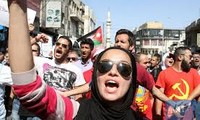 Jordan: Hundreds of people protest peace treaty with Israel