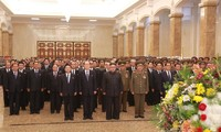 North Korean leader vows to 'fight' for strong nation