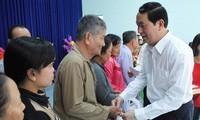 New Year program raises fund for disadvantaged people