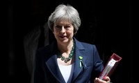 Britain's May pledges 20 billion extra pounds for post-Brexit healthcare