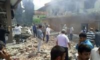 เกิดเหตุวางระเบิดในเขตชายแดนระหว่างตุรกีกับซีเรีย