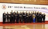 การประชุม ARF-๒๐และ EAS ๓ ย้ำถึงการรักษาสันติภาพ เสถียรภาพและความมั่นคงทางทะเล