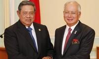 นายกรัฐมนตรีมาเลเซียเข้าร่วมการให้คำปรึกษาประจำปีระหว่างมาเลเซียกับอินโดนีเซีย