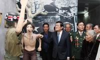 ประธานประเทศเวียดนามเยี่ยมเยือนพิพิธภัณฑ์อดีตนักโทษเรือนจำฟู้ก๊วก