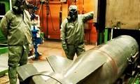 ซีเรียให้คำมั่นที่จะผลักดันการทำลายอาวุธเคมี