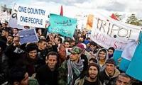 ชาวลิเบียนับพันคนชุมนุมประท้วงรัฐสภา