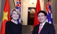 ผลักดันความสัมพันธ์ร่วมมือในทุกด้านระหว่างเวียดนามกับออสเตรเลีย