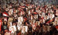 การชุมนุมในอียิปต์ในโอกาสรำลึกครบรอบ๑ปีการทำรัฐประหาร