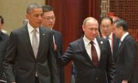 ประธานาธิบดีสหรัฐและรัสเซียพบปะ๓ครั้งในโอกาสเข้าร่วมการประชุมสุดยอดเอเปก