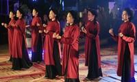 การอนุรักษ์และส่งเสริมคุณค่าของมรดกวัฒนธรรมนามธรรมการร้องเพลงทำนองซวาน