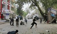 มีผู้ได้รับบาดเจ็บเกือบ๗๐คนจากเหตุระเบิดพลีชีพในประเทศอัฟกานิสถาน