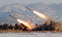 สาธารณรัฐประชาธิปไตยประชาชนเกาหลียิงขีปนาวุธ๓ลูกตกใส่เขตทะเลทิศตะวันออก
