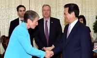 ผลักดันความสัมพันธ์ร่วมมือในทุกด้านระหว่างเวียดนามกับสหรัฐ