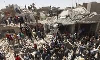 เครื่องบินรบของอิรักทำลูกระเบิดตกใส่เขตชุมชน