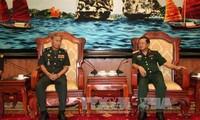 กองทัพเวียดนามและกัมพูชาผลักดันความร่วมมือและการแลกเปลี่ยนข้อมูล