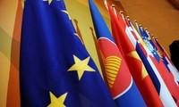อียูและอาเซียนผลักดันความร่วมมือและการสนทนานโยบายเกี่ยวกับปัญหาสิทธิมนุษยชน