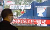 สาธารณรัฐเกาหลี จีนและญี่ปุ่นหารือเกี่ยวกับการทดลองนิวเคลียร์ของเปียงยาง