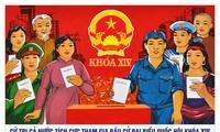 การเลือกตั้ง-วันงานแห่งประชาธิปไตยในเวียดนาม
