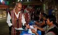 สื่อต่างประเทศรายงานข่าวเกี่ยวกับการเลือกตั้งรัฐสภาสมัยที่๑๔และสภาประชาชนทุกระดับ