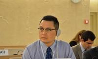 เวียดนามมีส่วนร่วมอย่างแข็งขันในการประชุมสภาสิทธิมนุษยชน