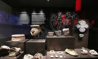 """เขตจัดแสดง""""การค้นพบด้านโบราณคดีใต้พื้นที่ของอาคารรัฐสภา"""""""