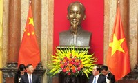 ประธานประเทศให้การต้อนรับสมาชิกรัฐบาลจีน