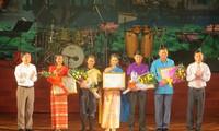 พิธีปิดงานมหกรรมศิลปะเวียดนาม ลาว กัมพูชา เมียนมาร์และไทย