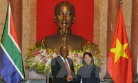 ผลักดันความร่วมมือระหว่างเวียดนามกับแอฟริกาใต้