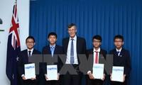 นักเรียนเวียดนามได้รับรางวัลในการแข่งขันคณิตศาสตร์ออสเตรเลีย