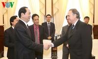 ประธานประเทศเวียดนามให้การต้อนรับผู้อำนวยการโครงการศึกษาพลเมืองทั่วโลกของยูเนสโก