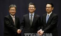 สาธารณรัฐเกาหลี สหรัฐและญี่ปุ่นจะประชุมกันเพื่อหารือเกี่ยวกับปัญหานิวเคลียร์ของเปียงยาง
