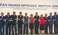 การประชุมเจ้าหน้าที่อาวุโสอาเซียนและการประชุมทาบทามร่วมอาเซียน