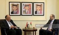 อียิปต์ประสานงานกับจอร์แดนเพื่อผลักดันการจัดตั้งรัฐปาเลสไตน์