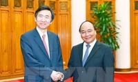 นายกรัฐมนตรีเวียดนามให้การต้อนรับรัฐมนตรีต่างประเทศสาธารณรัฐเกาหลี