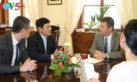 สาธารณรัฐเช็กรอคอยการเยือนของประธานรัฐสภาเวียดนาม