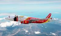 สายการบินเวียดเจ็ทแอร์เปิดเส้นทางบินตรงระหว่างกรุงฮานอยกับเมืองเสียมราฐ ประเทศกัมพูชา
