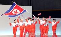 สาธารณรัฐเกาหลีแสดงความยินดีต่อเปียงยางที่เข้าร่วมการแข่งขันกีฬาโอลิมปิกฤดูหนาวปี๒๐๑๘