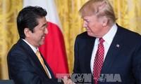 สหรัฐและญี่ปุ่นเห็นพ้องที่จะส่งเสริมความร่วมมือเพื่อรับมือกับภัยคุกคามจากเปียงยาง