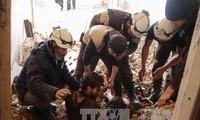 รัสเซียและอิหร่านตำหนิการโจมตีด้วยขีปนาวุธของสหรัฐใส่ซีเรีย