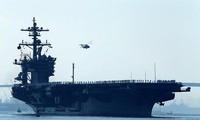 สหรัฐและญี่ปุ่นจัดการซ้อมรบร่วมในเขตทะเลทางทิศตะวันตกของมหาสมุทรแปซิฟิก